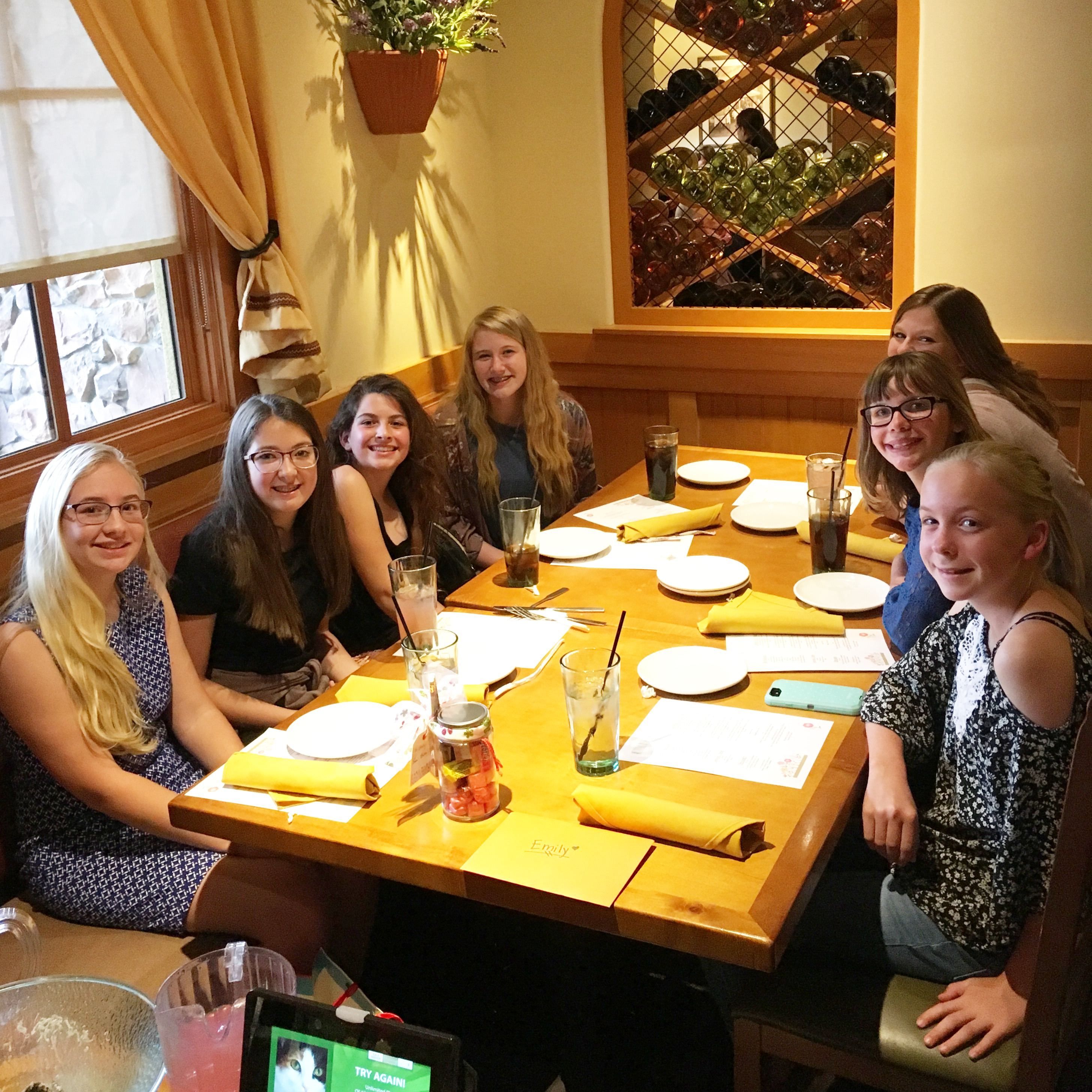Tween Birthday : Olive Garden | Coffee Fueled Mom